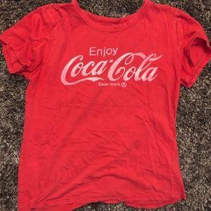 lucky Coca Cola shirt